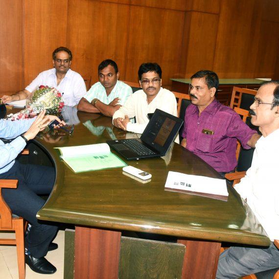 CM HOLDS MEETING OF ATAL GRAM DEVELOPMENT AGENCY