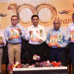 Chief Minister, Dr. Pramod Sawant attended the closing ceremony of the Centenary celebration (100 years 1919 to 2019) of Atmod'dhar Sangh, at Sankhali on November 23, 2019