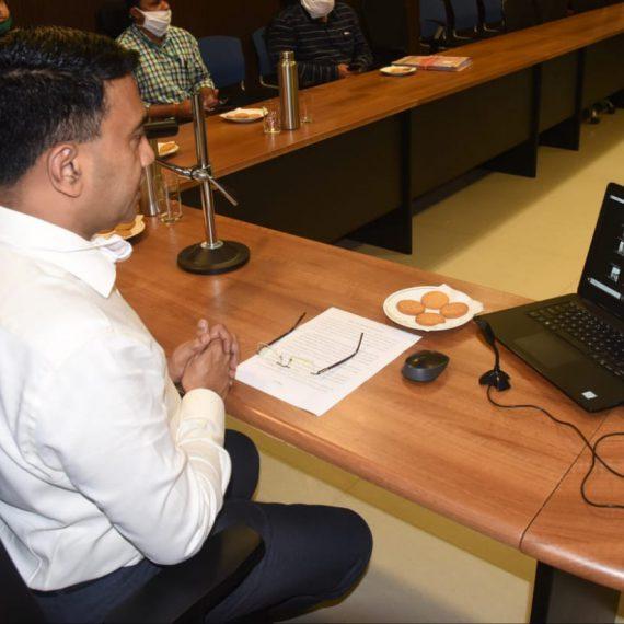 एम-स्त्रीपीस अँप आनी गोंय राज्याचा पक्षीचेर शोर्ट फिल्म हांची मुख्यमंत्री डॉ. प्रमोद सावंत हाणीं सुरवात केली