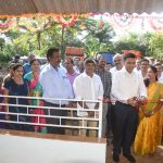 """Chief Minister, Dr. Pramod Sawant inaugurating """"Sub Health Centre"""" at Velguem on November 08, 2019. Also seen are Sarpanch of Velguem, Shri Govind Gawas and others."""