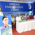 Chief Minister attended Special Enrollment and Medical Camp at Sankhali on July 07, 2019.