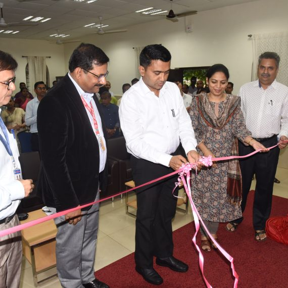 Chief Minister inaugurates Smart Classroom & Virtual Classroom Setup at Govt. College of Arts, Science & Commerce - Sankhali on