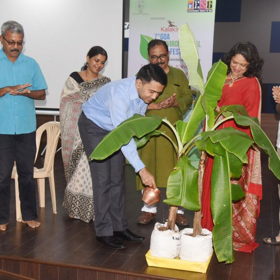"Chief Minister Inaugurated of ""7th Kalakirti Goa Environmental Festival"" at Porvorim on Sept. 25, 2019"