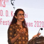 Dr. Chhavi Rajawat delivered her talk on 'When Women Rule' at the 13th D.D.Kosambi Festival of Ideas 2020 at Kala Academy, Campal on Jan. 30, 2020.