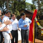 Chief Minister laid foundation for theextension of the existing structure of Primary Health Centre at Candolim on February 10, 2020