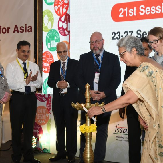 Chairperson of FSSAI, Ms. Rita Teotia inaugurated the 21st Session of FAO/WHO Coordinating Committee for Asia (CCASIA),at Hotel DoubleTree by Hilton, Ribandar- Old Goa on September 23, 2019.