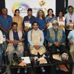 Minister for Art & Culture attends concluding ceremony of 'Chitraakan' at Patto Panaji on Sept. 25, 2019