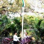 मुख्यमंत्री डॉ. प्रमोद सावंत हाणी २ जानेवारी, २०२० रोजी त्यांच्या अधिकृत निवासस्थान, अल्तिन्हो पणजी हांगा भारत प्रजासत्ताक दिसाच्या सुवाळ्यानिमित्त झंडा वंदन केले