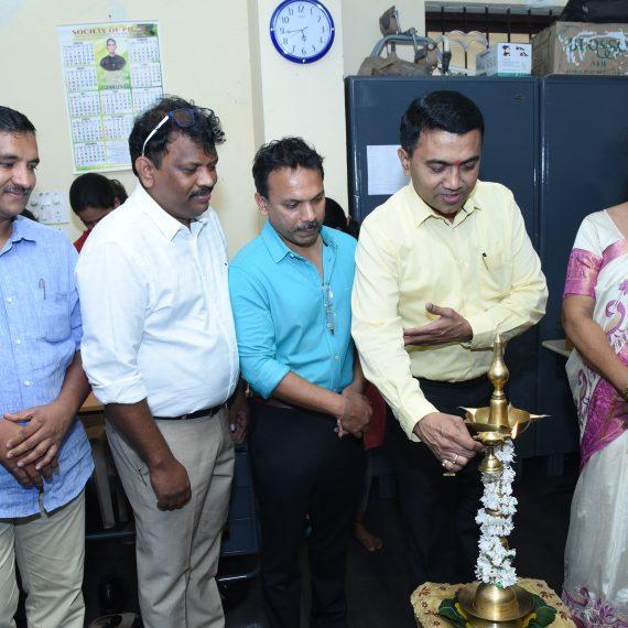 4 डिसेंबर, 2019 ह्या दिसा पर्वरी हांगा विशेष शिक्षण केंद्राच्या रक्तदान शिबिराच्या उद्घाटनाक मुख्यमंत्री डॉ. प्रमद सावंत हजर आशिल्ले