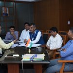 Chief Minister attended a meeting at Porvorim on Dec. 4, 2019