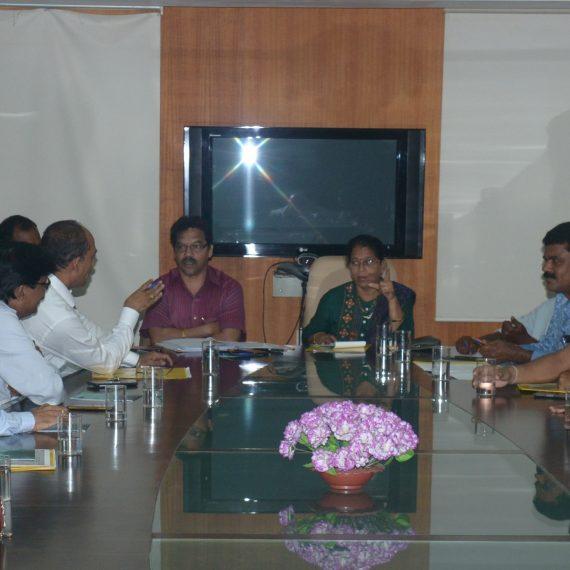 General Body meeting of North Goa Zilla Panchayat held at Porvorim on Nov. 21, 2019.