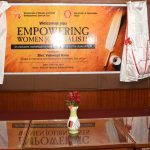 "Health Minister inaugurates workshop on ""Empowering Women Journalists"" at IMB, Panaji on Jul. 20, 2019."