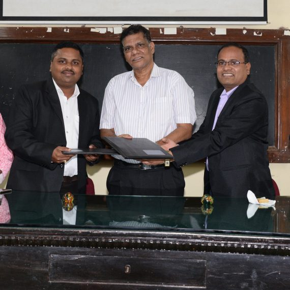 Renewal MoU signed between the Govt. of Goa and M/s Colorcon Asia Pvt. Ltd. under CSR at DHS Campal on Jan. 22, 2020