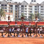 गोयं राज्यपाल, श्री सत्य पाल मलिक 26 जानेवारी 2020 रोजी कॅम्पल कॅम्पल परेड ग्राऊंड येथे आयोजित करण्यात आलेल्या भारताच्या प्रजासत्ताक दिनाच्या समारंभास हजेरी लावली.