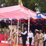 Principal Secretary, Shri Puneet Goel – IAS attended the 32nd Annual Inspection Day Parade' of Directorate of Fire & Emergency Services at St. Inez, Panaji on February 8, 2020