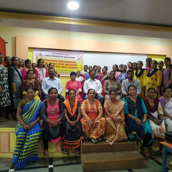 रानपी व सहाय्यकांखातर प्रशिक्षण कार्यक्रम आयोजित केल्लो