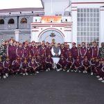 GOVERNOR MEETS STUDENTS OF JAMMU & KASHMIR