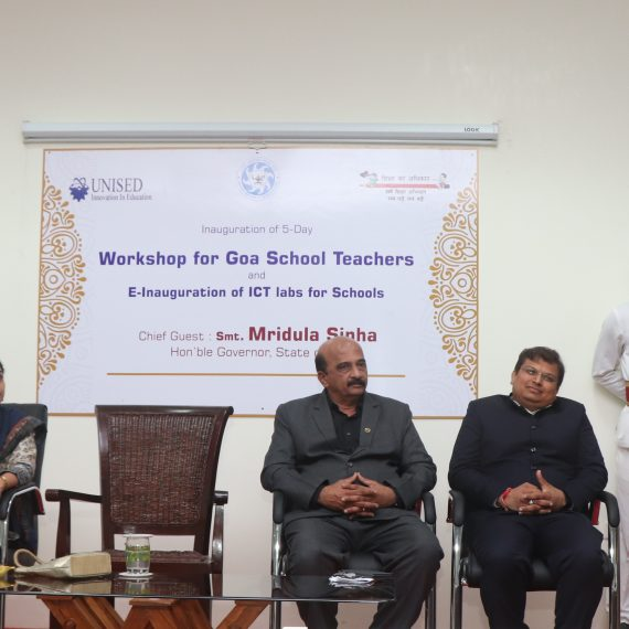 "Governor Inaugurates ICT Labs and 5 days Goa School Teachers Training Workshop"" at GEC Farmagudi on July 23, 2019"