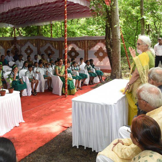 Governor attended Van Mahotsava Celebration at Raj Bhavan Forest, Donapaula on Jul. 4, 2019.