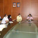 Meeting regarding Government to start conducting antibody test