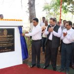 Chief Minister laid foundation for'Manohar Parrikar School of Law, Governance and Public Policy' at Goa University, Taleigao Plateau on Dec. 13, 2019