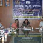 Labour Minister attends the 49th Meeting of the Regional Board of the ESI Corporation Goa Region at Porvorim on Nov. 22, 2019.
