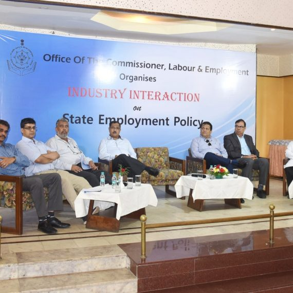 Minister for Labour and Employment attended Function of Industry Interaction on State Employment Policy at Panaji on June 14, 2019.-min