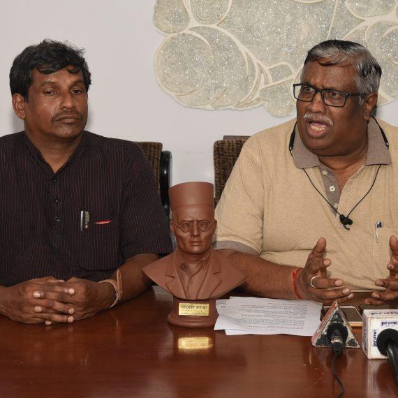 Press-conference on Hey Mrutunjay at Kala Academy, Campal on July 5, 2019