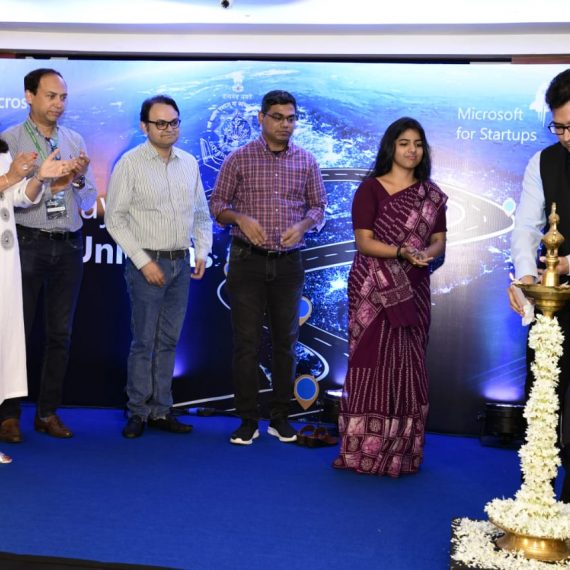 Secretary, Information Technology Shri. Sanjay Kumar, IAS inaugurated 'Highway to a 100 Unicorn', a program hosted by Department of Information Technology in association with Microsoft India.