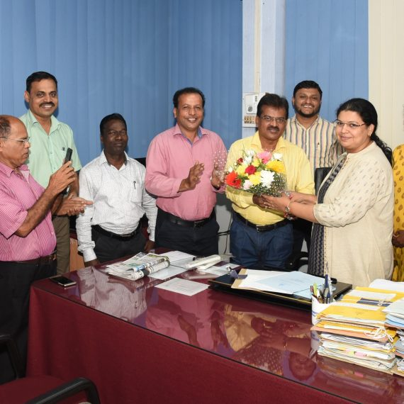 Smt. Meghana Shetgaonkar took charge as Director of Department of Information & Publicity on June 24, 2019.