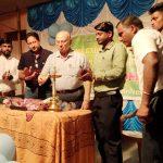 MLA Poriem Shri Pratapsingh Rane distributed the kits to the trainees in the presence of GFDC Members Secretary, Shri Alexio Da Costa.