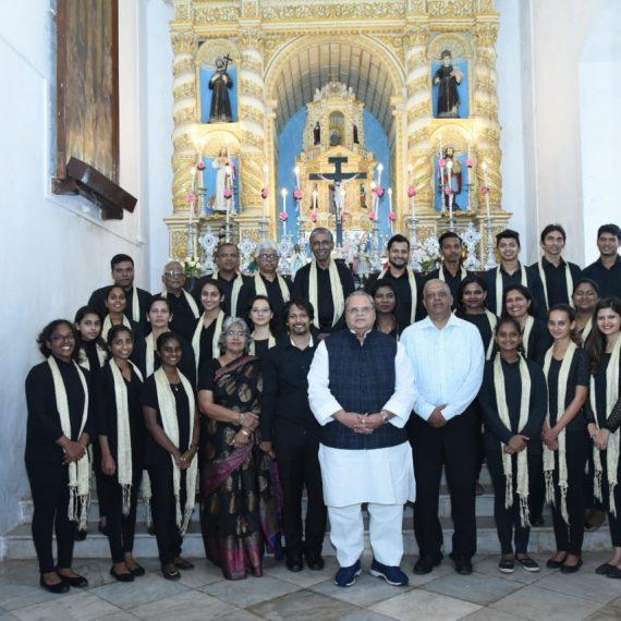 GOVERNOR ATTENDS CAROLSINGING AT RAJ BHAVAN CHAPEL