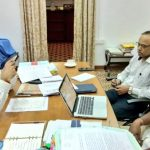 Chief Minister Interacts With Sarpancha's Via Teleconference