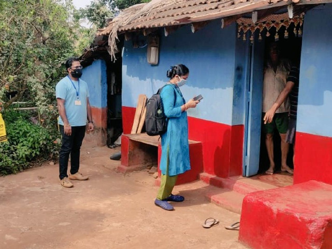 Door to door health surveys conducted