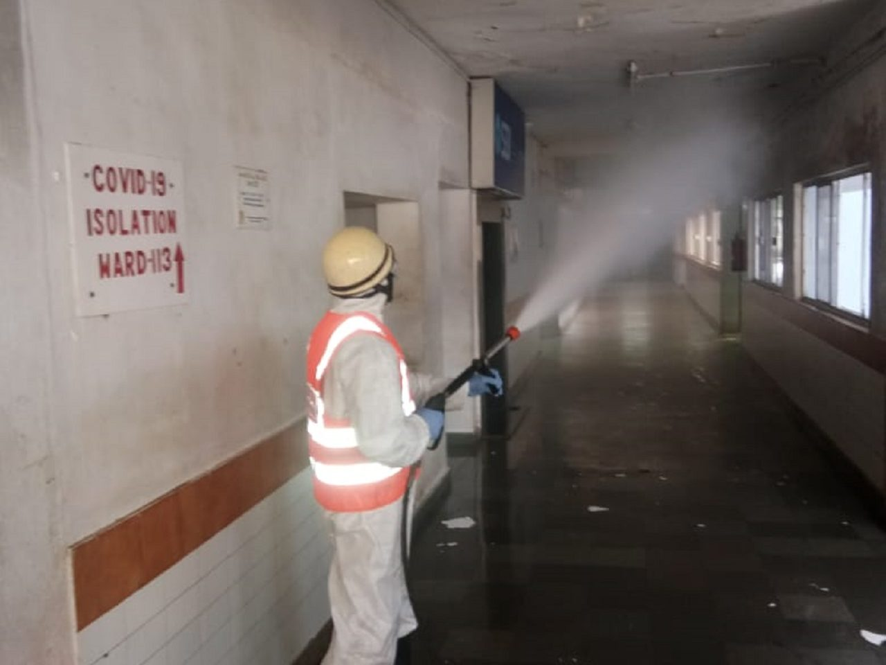 The Sanitization Work Undertaken By DFES