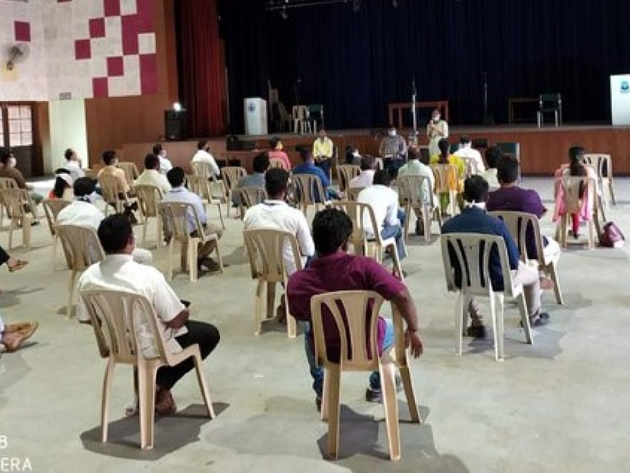 Training in Pernem for BLOs /Government officials on community survey for COVID19 from 13th April 2020