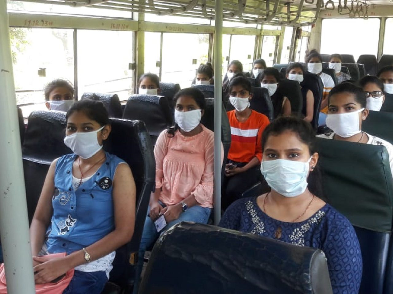 60 Nursing Students From Goa Stranded In Ghataprabha Brought Back