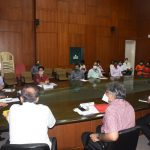 Welcome Ceremony Meet For Transfer Of Land From Govenment Of Goa To IIT Goa