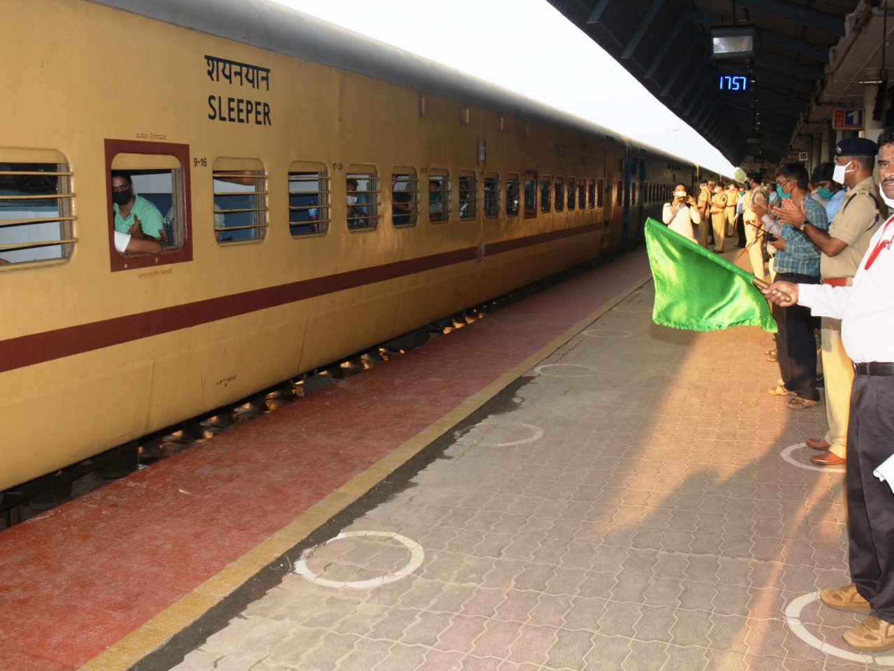 Special Train With 1473 Migrant Workers Leaves Goa To Himachal Pradesh