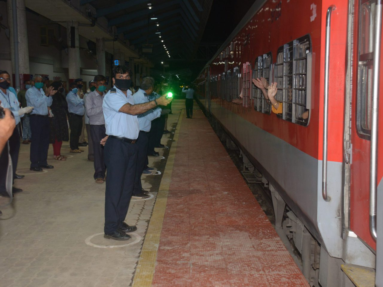 Second Train Carrying 728 Passengers Leaves To Udhampur