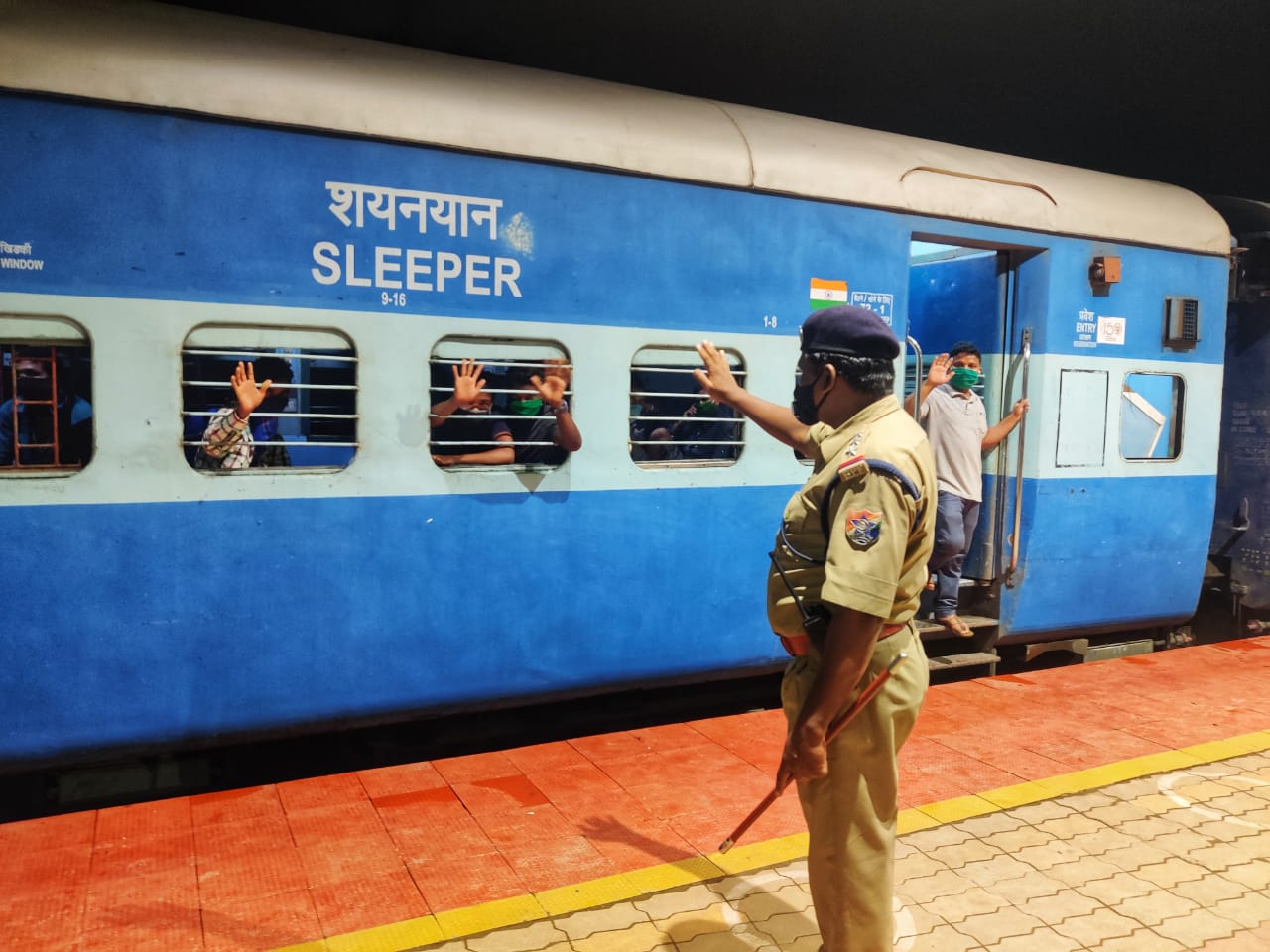 Shramik Express Trains Departs To Bihar And Jharkhand With 2380 Passengers On Board