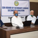 Press Conference on SSC Results at ESG, Panaji on July 28, 2020