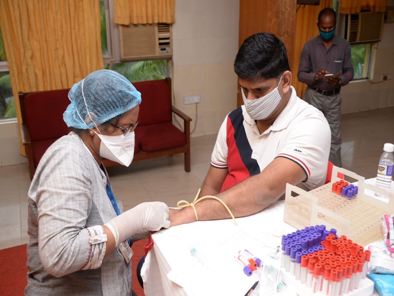 Screening Camp Held For Plasma Donors From North Goa