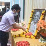 श्री संजय कुमार, आय.ए.एस.,सचिवालय, पर्वरी ऑक्टोबर ३१,२०२० दिसा हांगा राष्ट्रीय एकता दिवस साजरा करताना दिसले