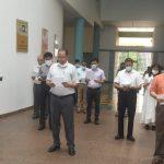 ३१ ऑक्टोबर २०२० दिसा सचिवालय, पर्वरी हांगा राष्ट्रीय एकता दिवस साजरा करताना