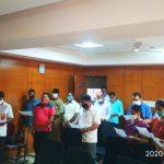 Directorate Of Agriculture Staff Took 'Rashtriya Ekta Diwas' Pledge On The Occasion Of Birth Anniversary Celebration Of Sardar Vallabhbhai Patel In The Office Premises