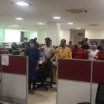 Department Of Information Technology Staff Took 'Rashtriya Ekta Diwas' Pledge On The Occasion Of Birth Anniversary Celebration Of Sardar Vallabhbhai Patel In The Office Premises
