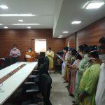 Directorate of Tribal Welfare Staff Took 'Rashtriya Ekta Diwas' Pledge On The Occasion Of Birth Anniversary Celebration Of Sardar Vallabhbhai Patel In The Office Premises