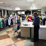 Department Of Tourism Staff Took 'Rashtriya Ekta Diwas' Pledge On The Occasion Of Birth Anniversary Celebration Of Sardar Vallabhbhai Patel In The Office Premises