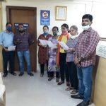 Directorate Of Muncipal Administration Staff Took 'Rashtriya Ekta Diwas' Pledge On The Occasion Of Birth Anniversary Celebration Of Sardar Vallabhbhai Patel In The Office Premises